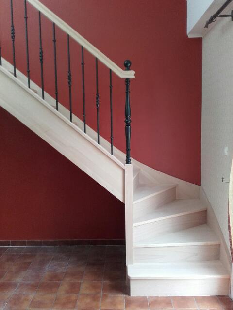 restaurer escalier bois stunning renovation escalier bois interieur rnover un escalier carrel. Black Bedroom Furniture Sets. Home Design Ideas